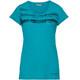 VAUDE Gleann V - Camiseta manga corta Mujer - Turquesa